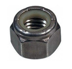 (Stainless 316) Nylon Locking Nut NF