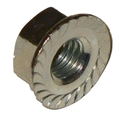 Flanged Serrated Nut