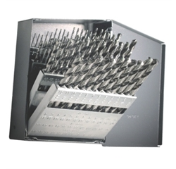 60 pc. Number Indexed Drill Bit Set #1 - #60