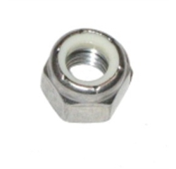 (Stainless 304) Nylon Lock Nuts NF